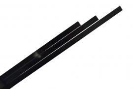 ABS výložka černá  1.650x7x1,5mm