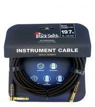 Kytarový kabel BS 6m rovný-zahnutý jack
